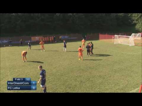 EMF Champions League 2016 - Group D - 3rd Round - InterDnestrCom (Moldova) vs FC Letka (Slovakia)