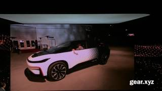 Faraday Future FF 91 Self Park Demo