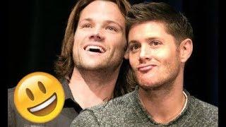 Jared Padalecki & Jensen Ackles 😊😅😊 - CUTE AND FUNNY MOMENTS (Supernatural 2018)