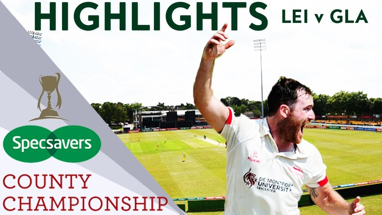 Incredible 3-Run Finish As De Lange Hits 90 From 45 Balls  - County Championship Highlights 2018
