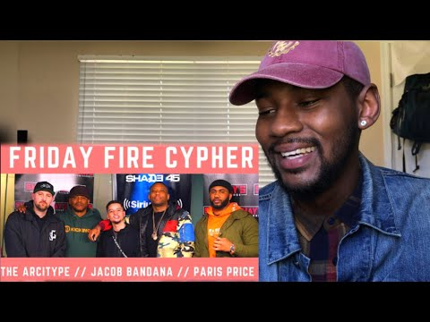 Friday Fire Cypher: Paris Price & Jacob Bandana Freestyle  Sway In The Morning 🔥 REACTION