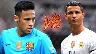 cristiano ronaldo vs neymar jr ● magic skills show 201617 hd