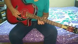 Gulabi Aankhen guitar lead cover | Single string on Lower E | Atif Aslam | Udayan Nath | HD video