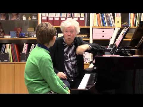 Axel Borgqvist har Master Class med Hans Pålsson