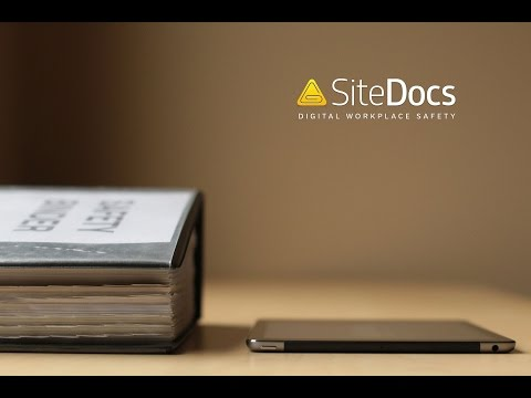 SiteDocs Paperless Safety Management (Product Demo 2016)