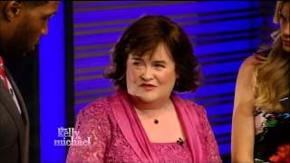Susan Boyle - Performs You Raise Me Up  Kelly and Michael
