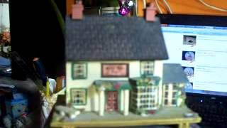 Pauline Ralph  Music Box Cottage Green Man Pub Danny Boy-- Music By Sanyo Japan