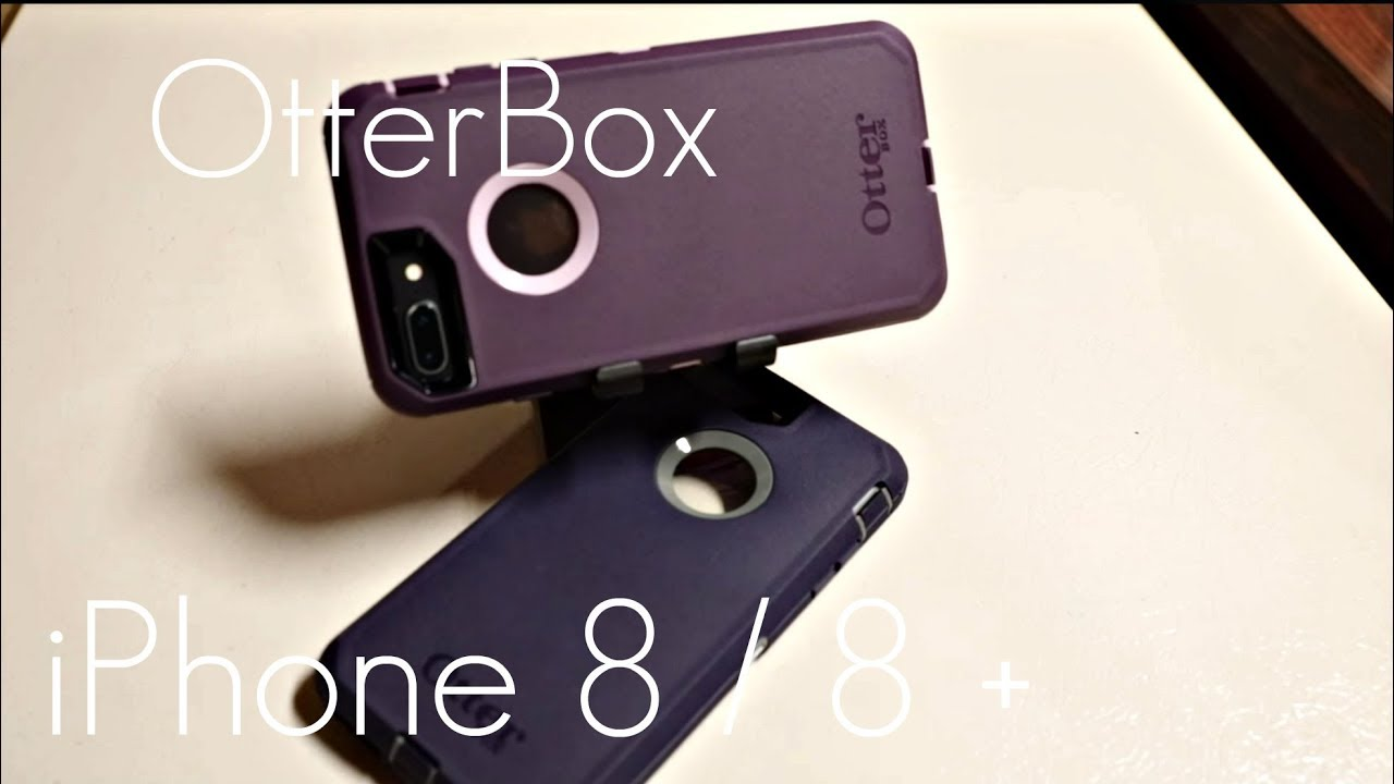 sneakers for cheap efaf0 d1372 OtterBox Defender Case - iPhone 8 / 8 PLUS - Quick Review / Demo
