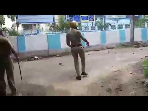 Left protest in Barasat turns violent