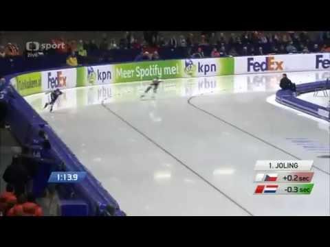 Martina Sáblíková zlato MS 2015 Heerenveen, 3 000 m