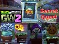 Plants vs Zombies Garden Warfare 2   Plant Secret Quest BackYard Battle Ground