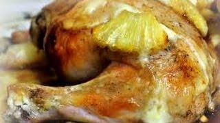 Курица на ананасе. Вкуснотища!!! И быстро.
