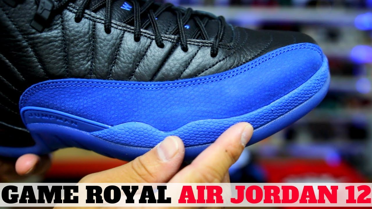 jordan 12 royal black
