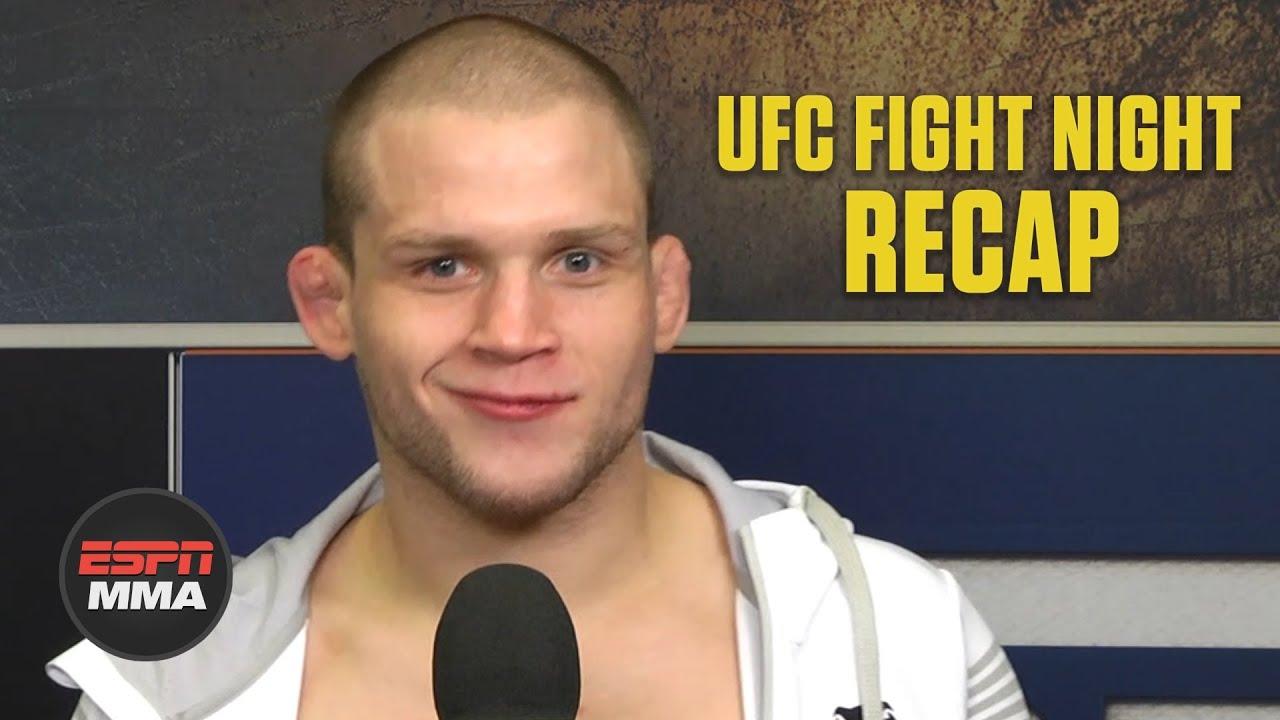 Alex Morono recaps 'wild week' capped by beating Donald Cerrone at #UFCVegas26   ESPN MMA