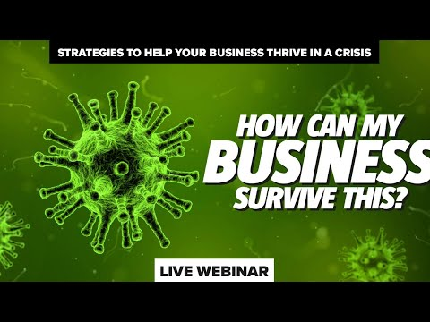 How can my business survive this? - ONLINE WEBINAR