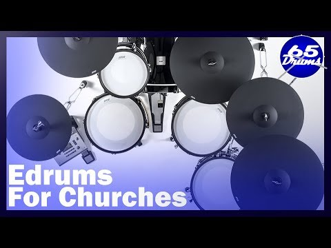 Best Electronic Drumsets For Churches