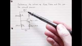 Bias Transistor Tutorial