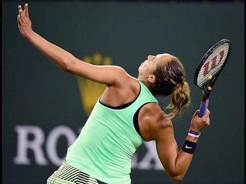 2017 BNP Paribas Open Third Round | Madison Keys vs Naomi Osaka | WTA Highlights