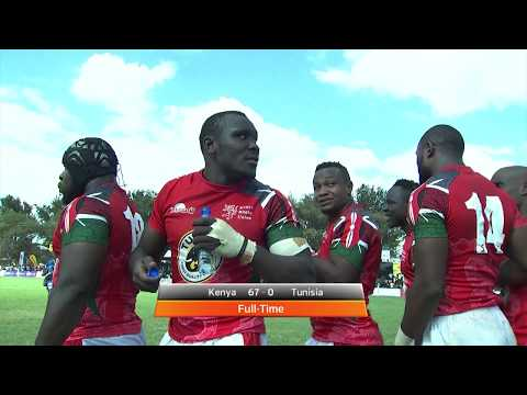 RUGBY AFRICA GOLD CUP - Kenya vs Tunisia