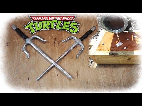 Casting Raphael´s Sais (Teenage Mutant Ninja Turtles)