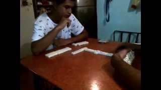 La paliza de casi loco en domino brazalete en la mano(CHICOTAZO)