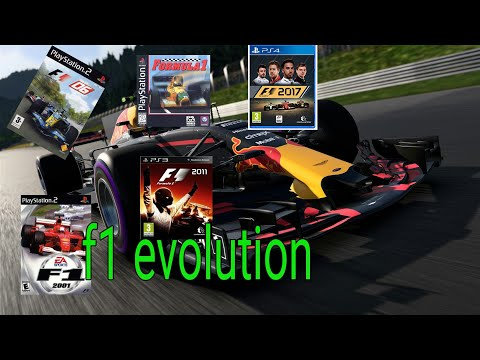 Evolution of F1 gaming
