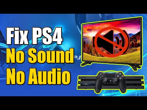 How to Fix PS4 No Sound on TV or Headphones! (Fast Method!)