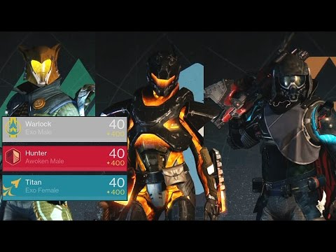 Destiny the game: Three 400 characters! (Nov. 2016)