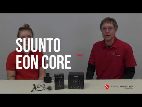 Product Tutorials | SUUNTO Eon Core Dive Computer