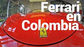 En el carro de un colombiano piloto de Ferrari