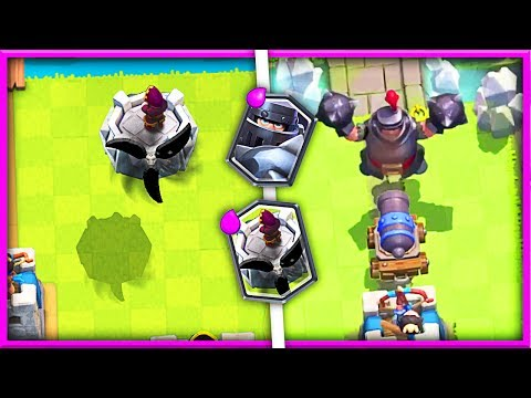 Mega Knight + NEW FLYING DEFENSE Concept In Clash Royale! • CARD IDEAS!