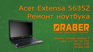 видео Ремонт ноутбука Acer Extensa 5635ZG