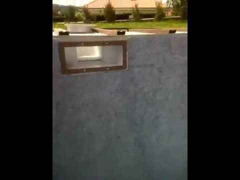 Etape 3 pose feutre sur l 39 escalier int rieur youtube for Pose feutre piscine