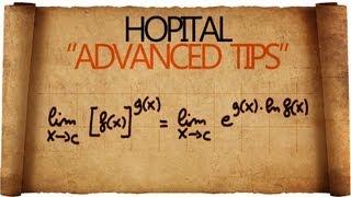 Teorema di Hopital - Advanced Tips