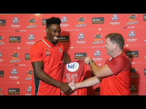 Perth Wildcats - Derek Cooke Jr Press Conference - 07 August 2017