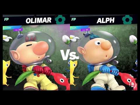 Super Smash Bros Ultimate Amiibo Fights   Request #6335 Olimar Vs Alph