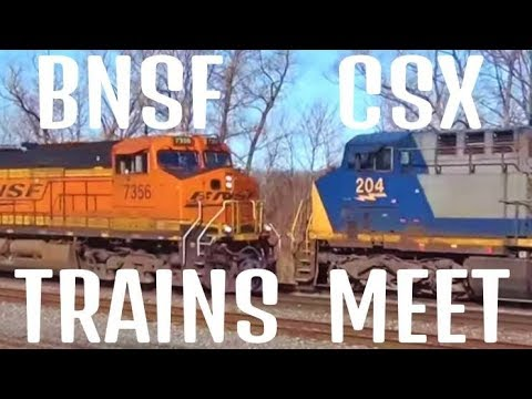 2 Trains Gonna Meet Head On