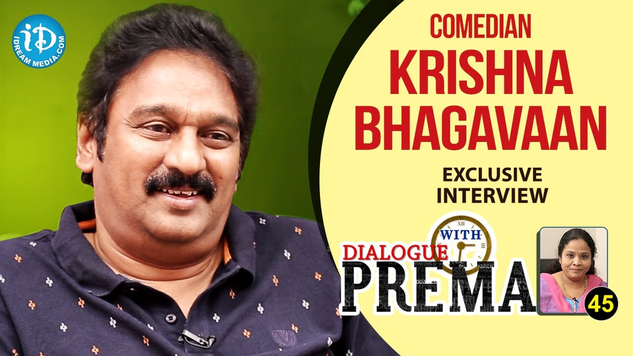 Comedian Krishna Bhagavaan Exclusive Interview | Dialogue ...