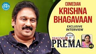 Comedian Krishna Bhagavaan Exclusive Interview ...