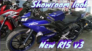 Yamaha R15 v3  Showroom look | best looking bike in india 2018  best sports bike under 2lac in india