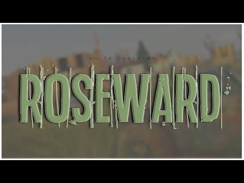ROSEWARD, HOME OF THE ZOMBIES! // Sims 3: World Overview