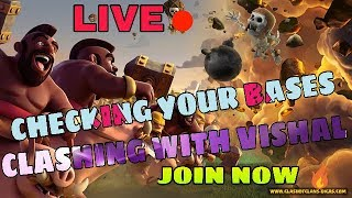 My Clash of Clans Stream aajao Sab log coc time mastiii time 😍