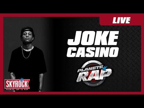 """Joke """"Casino"""" en live dans Planète Rap !"""