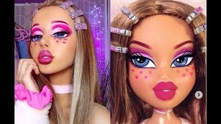 МАКИЯЖ BRATZ CHALLENGE MAKE-UP TUTORIAL