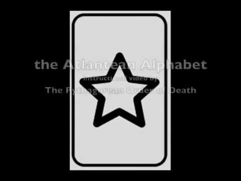 The Atlantean Alphabet of the Pythagorean Order of Death