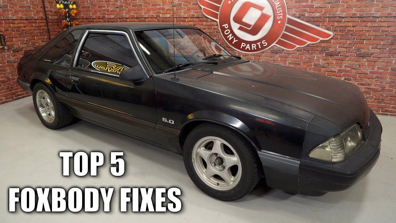 Top 5 Fixes for Fox Body Mustangs