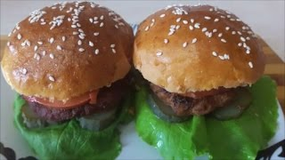 Рецепт домашнего ГАМБУРГЕРА Гамбургер в домашних условиях Гамбургер своими руками