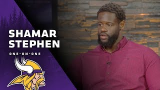 Shamar Stephen Expresses Excitement Over His Return, Explains Decision To Come Back | Vikings