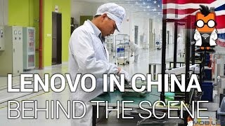 Inside Lenovo - HQ & Factory Tour