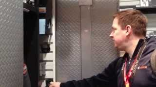Gladiator Garage Works Sliding Cabinet Storage
